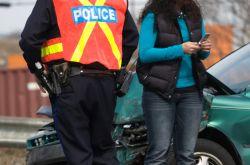 Bei Unfall Polizei verständigen